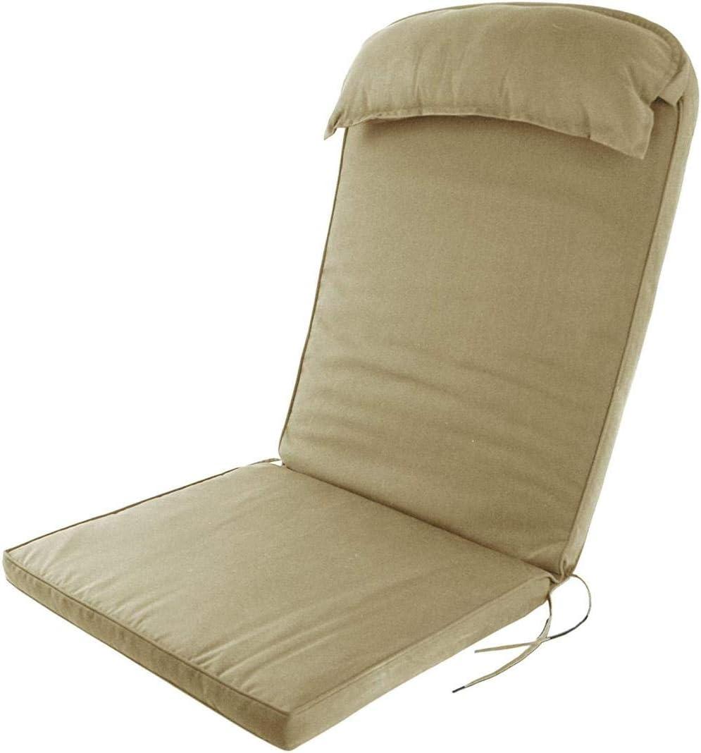 NMT Plant Chair Coussin /à Dossier Haut avec Oreiller de T/ête Evergreen