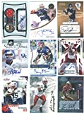 (1) Random Autographed Signed Football Trading Card Featuring a Pro or College Player