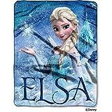 "Disney Frozen Elsa Palace 40"" x 50"" Silk-Touch Throw Blanket"