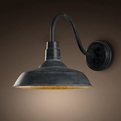 Ladiqi industrial wall light vintage wall lamp metal wall sconces ladiqi industrial wall light vintage wall lamp metal wall sconces barn farmhouse light fixture aloadofball Choice Image