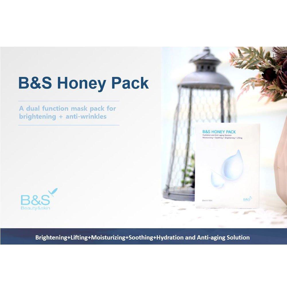 Amazon.com : [B&S] HONEY PACK Mask Sheet 10pcs Hydartion and ...