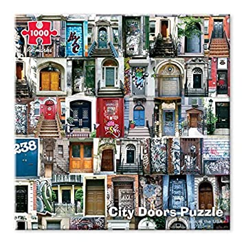 Re-marks City Doors 1000 Piece Puzzle & Amazon.com: Re-marks City Doors 1000 Piece Puzzle: Toys u0026 Games pezcame.com