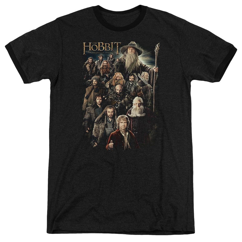 The Hobbit Men's Somber Company Ringer T-Shirt
