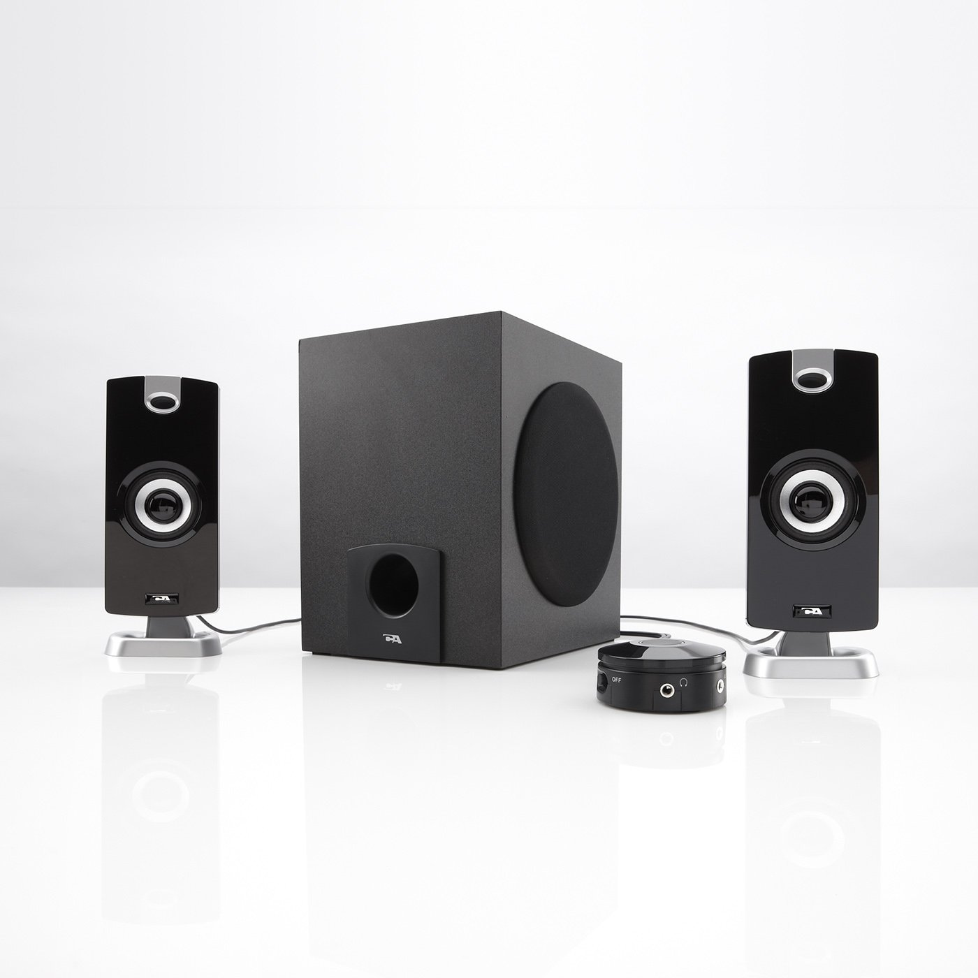 18W Computer Speakers with Subwoofer CA3090 Cyber Acoustics