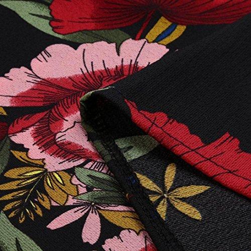 HomebabyCanottiere Taglie Donna Estive Boho Sexy Eleganti Sportivo Maglia Casual Palestra Forti Abbigliamento Top Corta Vintage Maglietta Magliette Crop Elegante Rosso ESEwrqd