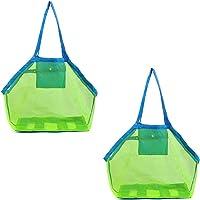 2pcs bolsa de playa, Bolsa Malla Playa, ideal para de playa, bolsa de natación, bolsa de arena para llevar tu toalla de…