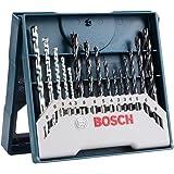 Jogo brocas Alvenaria/Metal/Madeira Bosch Mini X-line