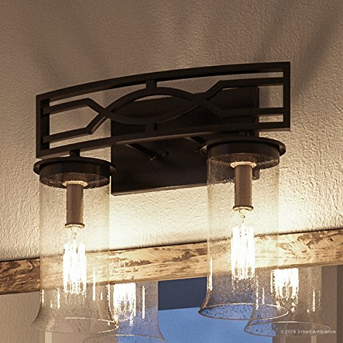 (Luxury Mediterranean Bathroom Vanity Light, Medium Size: 11.5