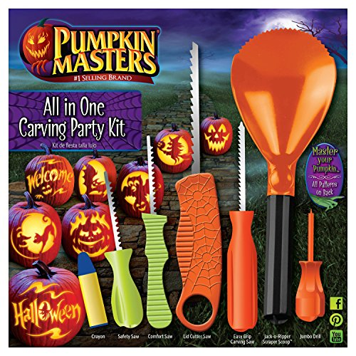 Pumpkin Masters Halloween All-In-One Party Kit -