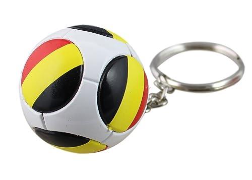 porte-cle balón Bélgica Diablo Rojo Supporter Hazard Euro 2016 ...