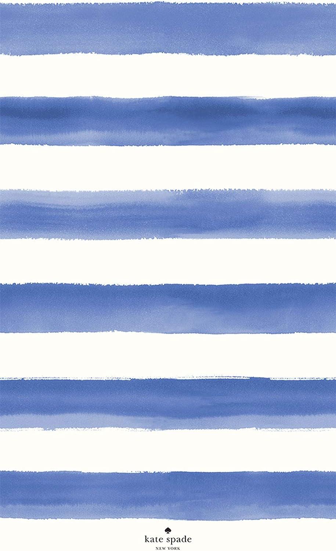 Kate Spade New York Watercolor Cornflower Beach Towel, 40x70 inch