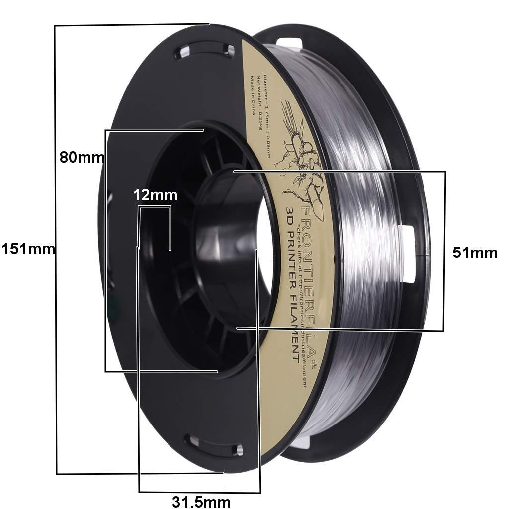 4x250g 1.75mm nylon/PETG/flex/HIPS - Filamento para impresora 3D ...