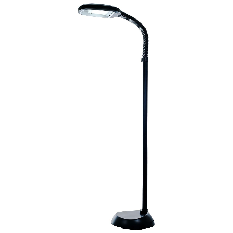 Bedford Home Sunlight Floor Lamp 5 Feet - Black