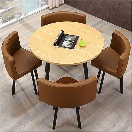 Table A Manger Et 4 Chaises Ensemble De Table De Cuisine Compact