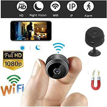 HD 4K 1080P WIFI Mini IP Camera Hidden P2P CCTV Cam Night Vision Security Record