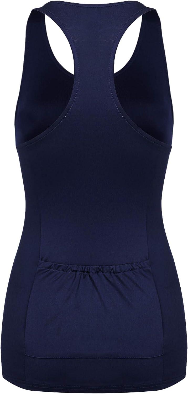 Beyove Womens Casual O-Neck Sleeveless Quick Dry Racerback Athletic Sports T-Shirt Yoga Tank Top Gym Shirts
