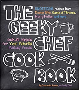 Image result for the geeky chef cookbook