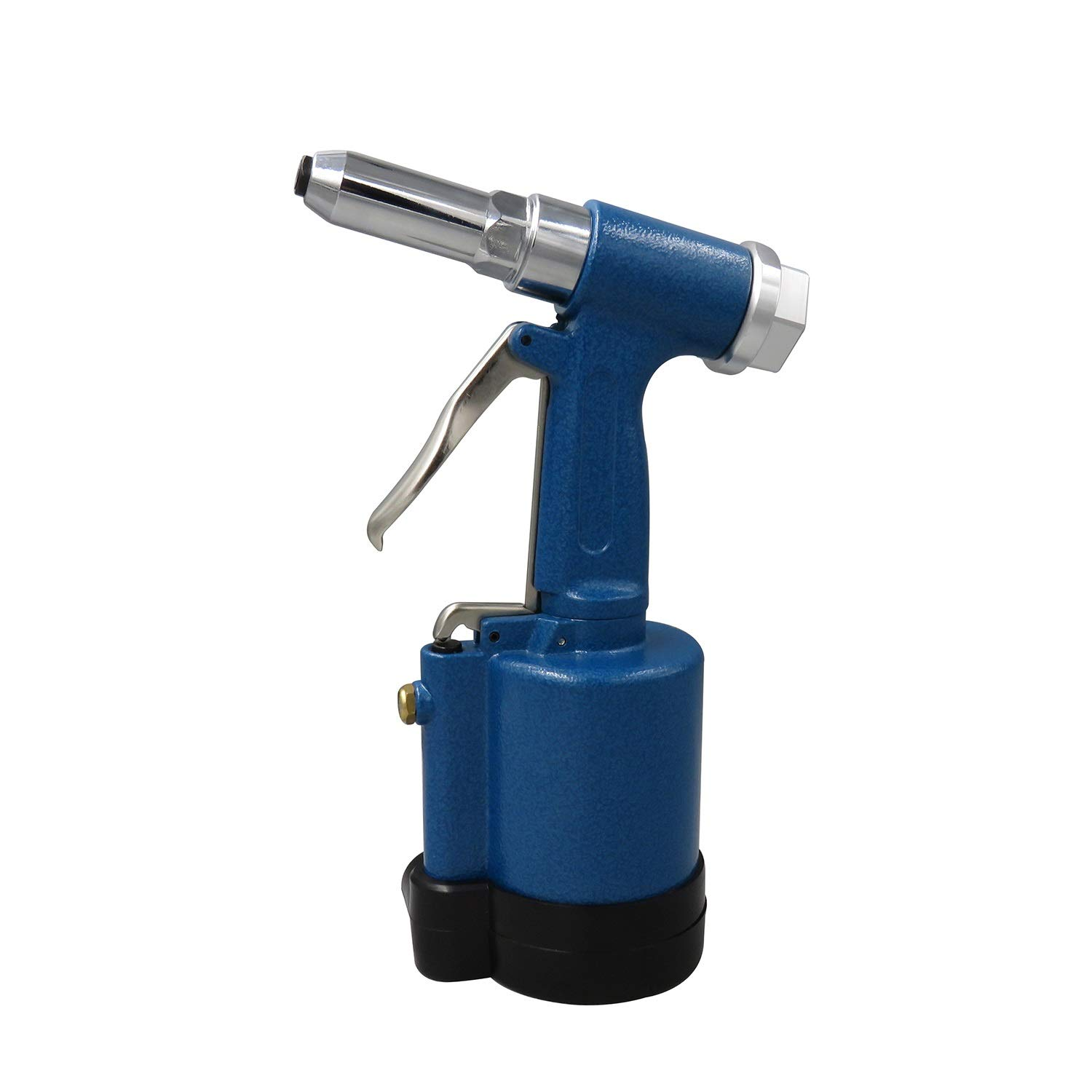 Hydraulic Pneumatic Rivet Gun, Stainless Steel Blind Rivet Gun, Industrial Grade Three-jaw Riveting Tool (Color : Blue) by XIAOL-Pneumatic Tool