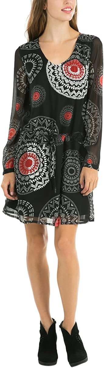 amazon robe femme desigual