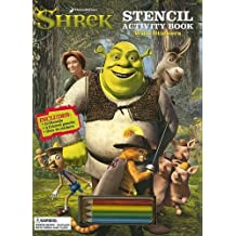 Shrek Stencil Activity Book: With Stickers with Sticker and Pens/Pencils and Stencils