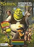 Shrek Stencil Activity Book: With Stickers