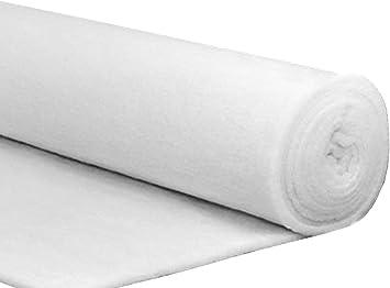 Ouate Ouatine Molleton Largeur 160 cm 100 g//m2 épaisseur 5 mm