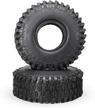 BouBou 2Pcs 9 Pulgadas 120Mm Diámetro Crawler RC Neumáticos ...