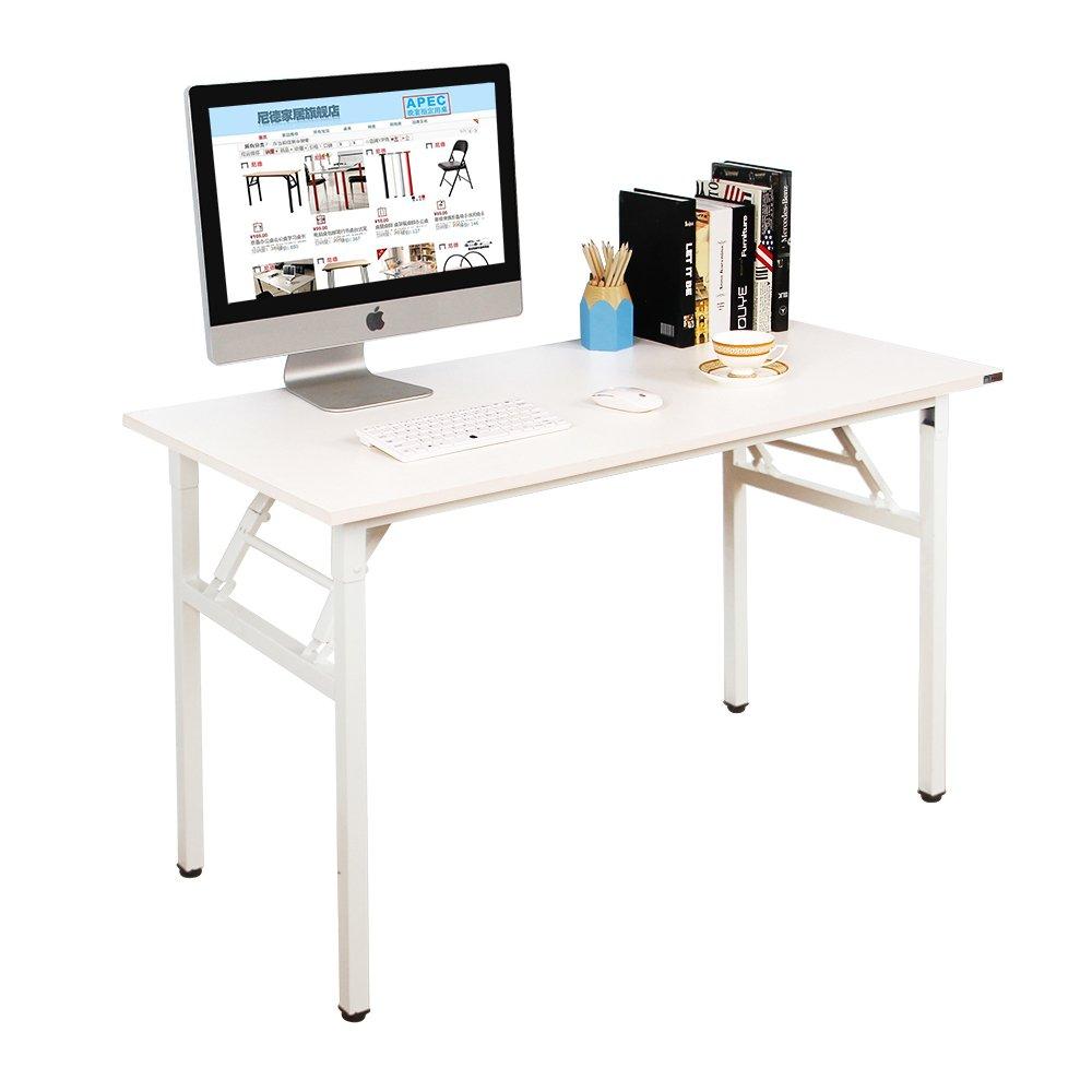 Need Mesa Plegable 120x60cm Mesa de Ordenador Escritorio de Oficina ...