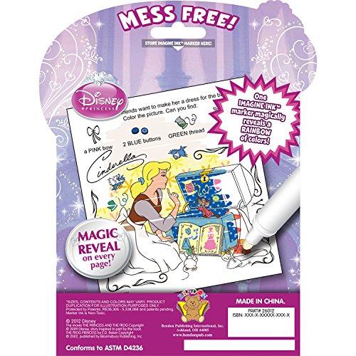 Amazon Bendon Disney Princess Imagine Ink Book Toys Games