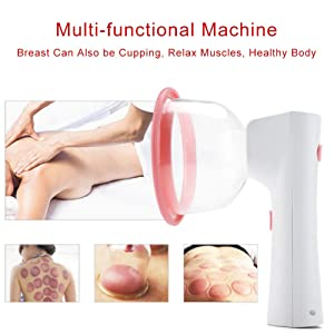 Electric Chest Massager, Liposuction with Essential Oil, Relax Charm, Breast Enhancer, Fits Chest Breasts and Biggest(L)