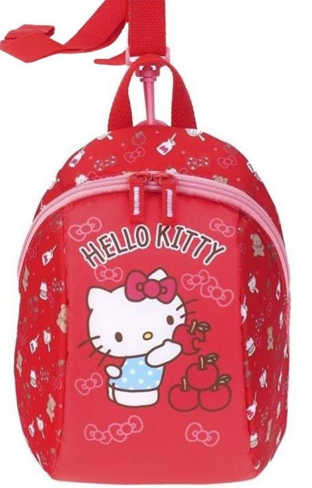 Hello Kitty Toddler Baby Ultra Lightweight Backpack Girl Bag with Detachable Safety Harness Leash