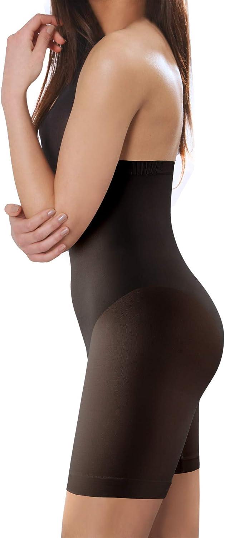 Sesto Senso Damen Figurformend Miederpants Miederhose 1//3 Pack Shapewear Bauch Weg Effekt