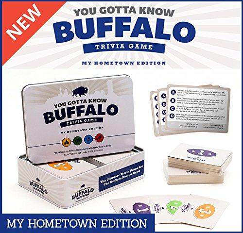 You Gotta Know Buffalo Trivia Game - My Hometown Edition