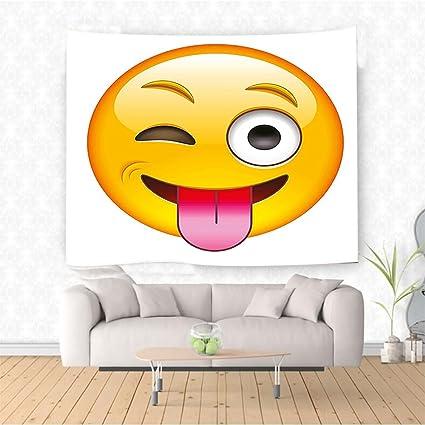 Amazon Com Nalahome Emoji Cartoon Like Technologic Smiley Flirty
