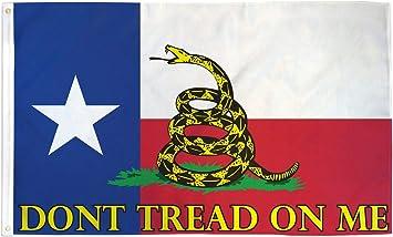 3 x5 TEXAS bandera de Gadsden