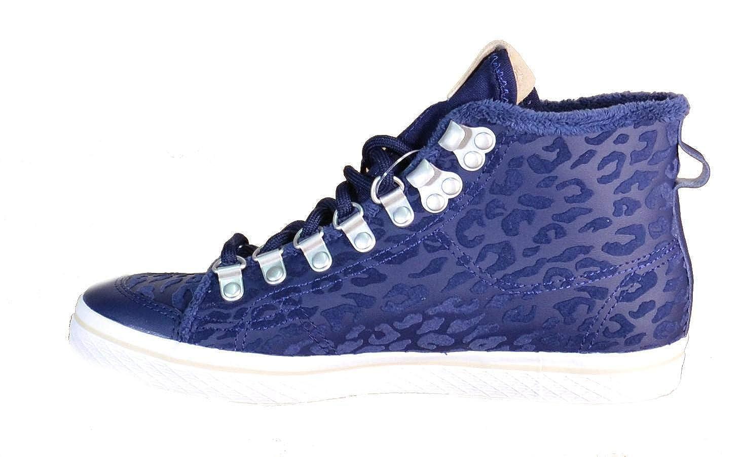 pretty nice bc602 d06d9 Adidas - Adidas Honey Hook W Scarpe Sportive Alte Donna Blu Pelle S77425 -  Blu, 38  Amazon.it  Scarpe e borse