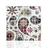 """Cocotik Peel and Stick Tile 10"""" x 10"""" Adhesive Vinyl Wall Tiles, 10 Pack"""