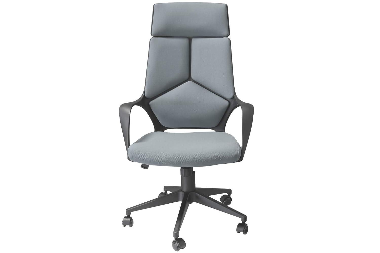 Chefsessel Bürostuhl FANCY mit Armlehnen in Textil Anthrazit