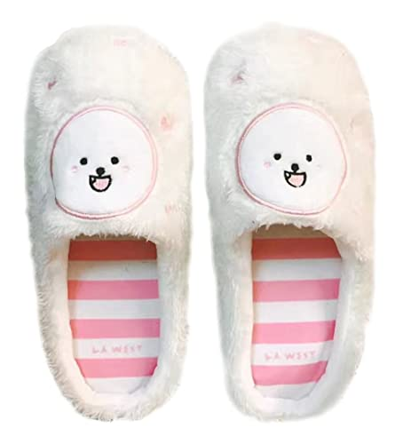 ee688198057 Image Unavailable. Image not available for. Color  Women s Animal Corgi  Soft Plush Warm Slippers Waterproof Non-Skid ...