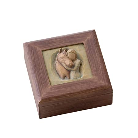 Willow Tree Quiet Strength, Sculpted Hand-Painted Memory Box