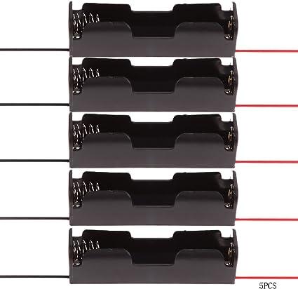 Everpert - Caja de Almacenamiento de plástico para 1 Soporte de ...