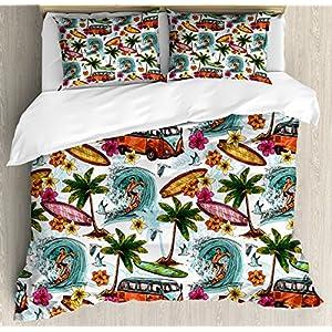 615M9z7AxsL._SS300_ Surf Bedding Sets & Surf Comforter Sets