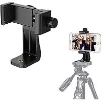Handy Stativ Adapter Smartphone Halterung Adapter Handyhalter Anwendung auf 1/4-20 Stativ Tripod, Einbeinstativ, Selfie Stick, für iPhone X/XS/XR/XS Max/8/7 Plus, Galaxy S9/S8