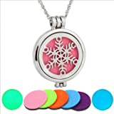 SOURBAN Fragrance Necklace Stainless Steel Perfume Diffuser Necklace