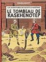 Les Aventures de Scott et Hastings, tome 1 : Le Tombeau de Raskhenotep par Marniquet