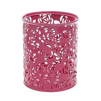 Hohle Blume Pinsel Stift Bleistift Stifte Container Schreibtisch ZPG