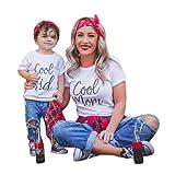 Mom & Kind Pullover, DoraMe Baby Jungen Mädchen Lange ärmel Sweatershirt Familie Kleidung LOVE Drucken Bluse Lässig O-Ausschnitt T-shirt