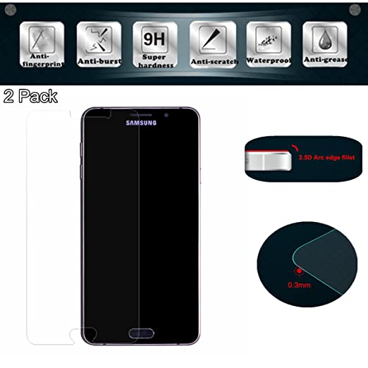 7 opinioni per 2x Samsung Galaxy A5 2016 Pellicole protettive per schermo, EJBOTH Premium Vetro