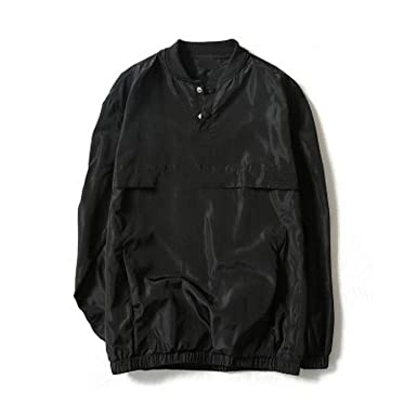 Amazon.com: New Reflective Windbreaker Bomber Jacket Men ...