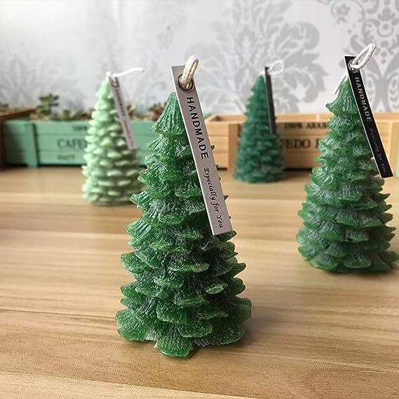 zur Herstellung von Kerzen Seifen Seifen handgefertigt Tannenbaum Backen Silikonform f/ür Kerzen und Tannenbaum Tannenfrucht